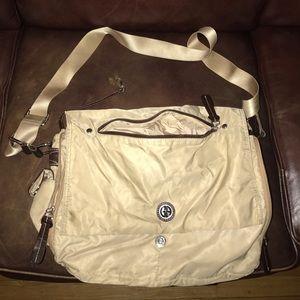 Giani Bernini Messenger Bag / Camel / 12 pocket